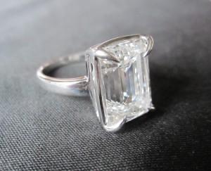 Bague diamant
