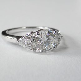 Diamonds ring.