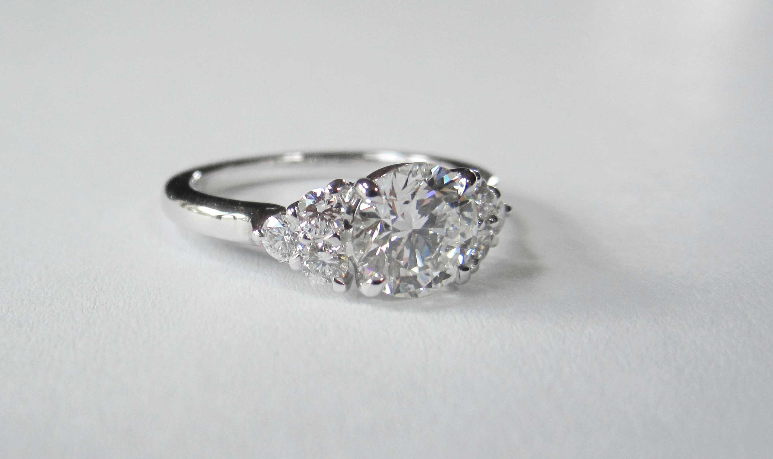 Diamonds ring.