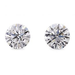Perfect pair of diamonds.