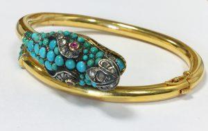 Bracelet serpent.