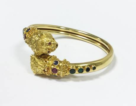 Bracelet «têtes de lion», Lalaounis (Vendu)