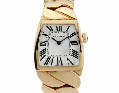 Montre en or jaune La Dona, Cartier (Vendu)