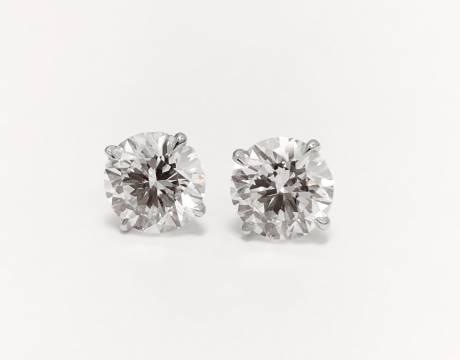 Clous d'oreille diamant (Vendu)