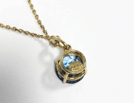Tanzanite pendant, Chaumet (Sold)