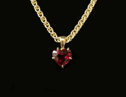 Ruby pendant (Sold)
