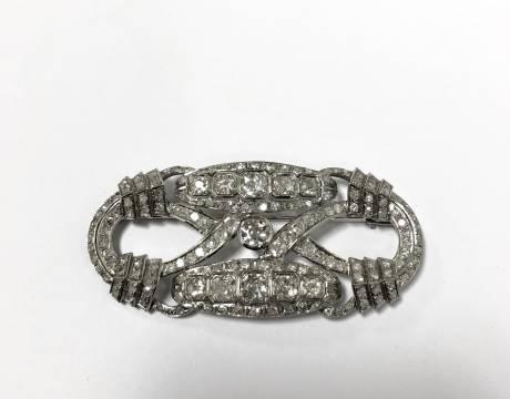 Broche diamant (Vendu)