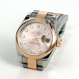 Rolex Oyster Lady Datejust gold and steel.