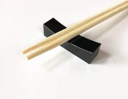 Black jade chopsticks rest (Sold)