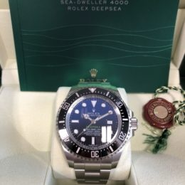 Rolex Deep Sea D-Blue Ref. 126660.