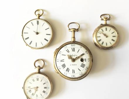 Gold pocket watches (Sold)
