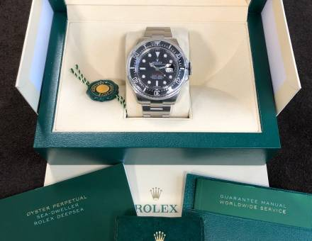 """Rolex Oyster Perpetual Date Sea-Dweller """"Single Red"""" (To sell)"""