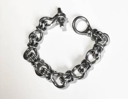 Bracelet en argent, Hermès (Vendu)