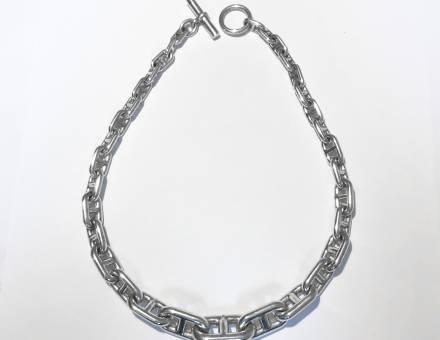 Collier Hermès chaîne d'ancre (Vendu)