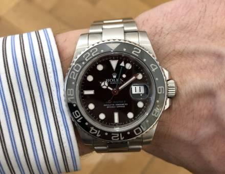 Rolex Oyster Perpetual GMT-Master ll (Vendu)