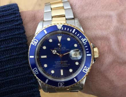 Rolex Oyster Perpetual Submariner date (A vendre)