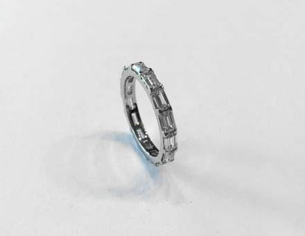 Diamond wedding band (Sold)