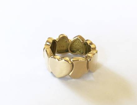 """Heart band"" ring, Fred (Sold)"