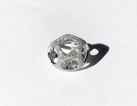 Open work diamond ring (Sold)