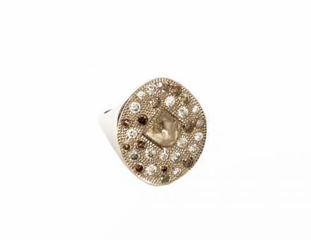 Bague diamant «Talisman», De Beers (Vendu)