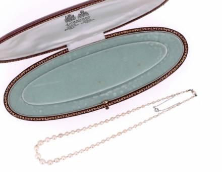 Collier de perles fines, J. Chaumet (A vendre)