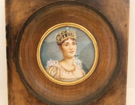 Joséphine et Napoléon, peintures sur ivoire (Vendu)