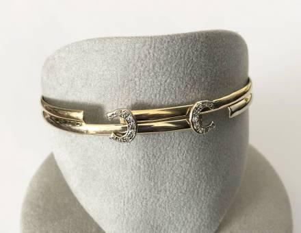 """Bracelet """"Deux C"""", Cartier (A vendre)"""