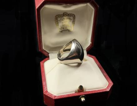 « Jeton » gold ring, Cartier (Sold)