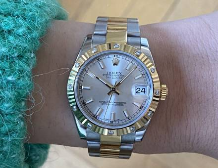 Rolex Lady Datejust diamond steel and gold (To sell)
