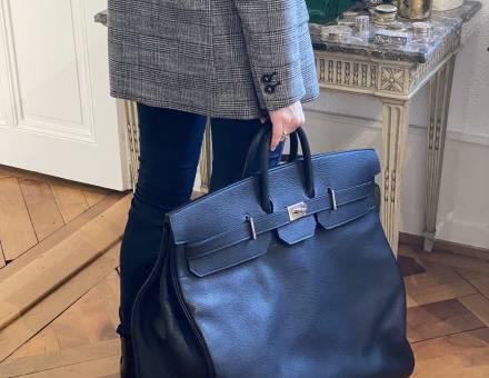 """Travel bag """"Haut à courroies"""", Hermès (Sold)"""