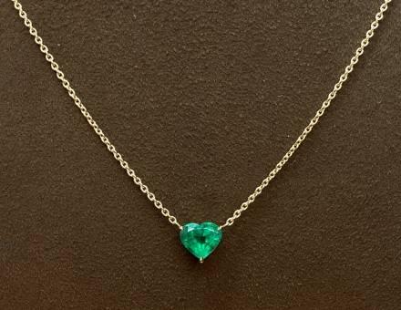 Emerald pendant (Sold)